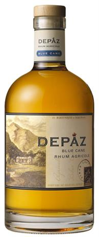Depaz Blue Cane Rhum Agricole Amber